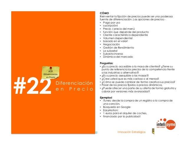 2013® Juanes Álvarez Hernández. juan.alvarez@inteligroup.com.co    Innovación Estratégica #24 Re-evaluar sus actividades y...