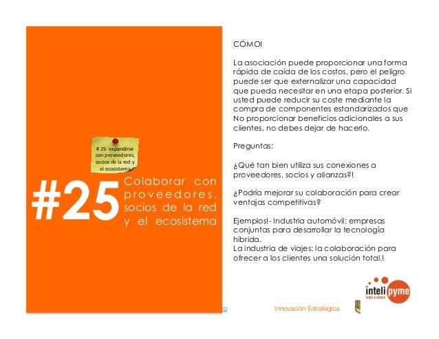 2013® Juanes Álvarez Hernández. juan.alvarez@inteligroup.com.co    Innovación Estratégica Catalizadores Sem illas Matriz d...