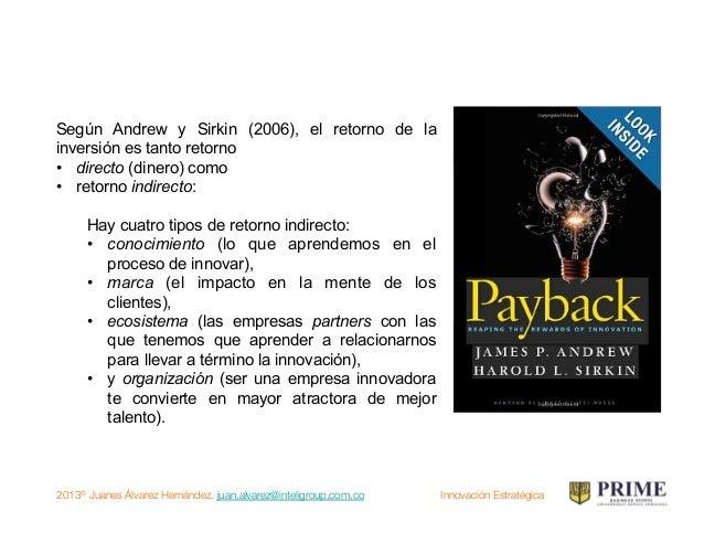2013® Juanes Álvarez Hernández. juan.alvarez@inteligroup.com.co    Innovación Estratégica Pero si tú tienes una idea y yo ...