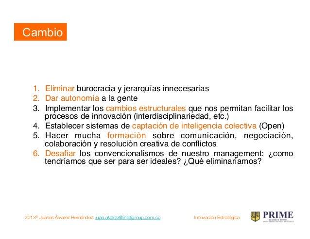 2013® Juanes Álvarez Hernández. juan.alvarez@inteligroup.com.co    Innovación Estratégica Cuarto movimiento: tendencia Ten...