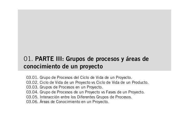 Introducción a la Dirección de Proyectos. Parte II Slide 2