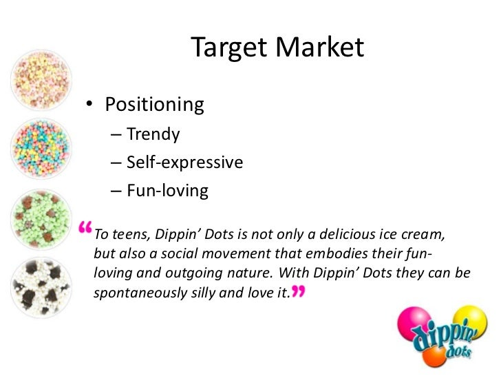 Strategic Analysis of Dippin Dots