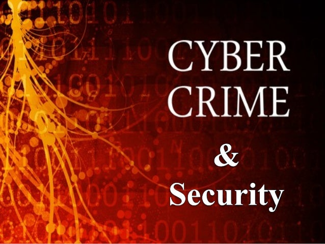  Crime committed using a computer and the internet to steal  a person's identity or illegal imports or malicious programs...