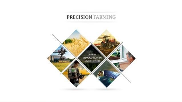 PRECISION FARMING Past – Present - Future