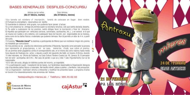 Antroxu (carnaval) Mieres 2012