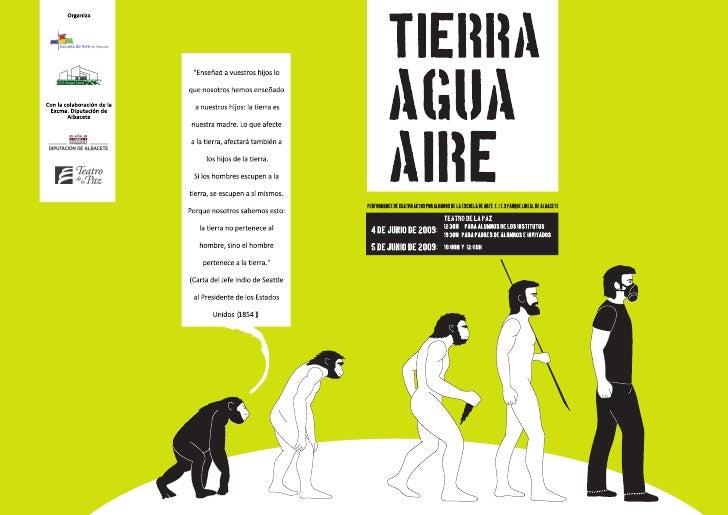 Cartel Performance 2º Bach. Escuela de Arte Albacete