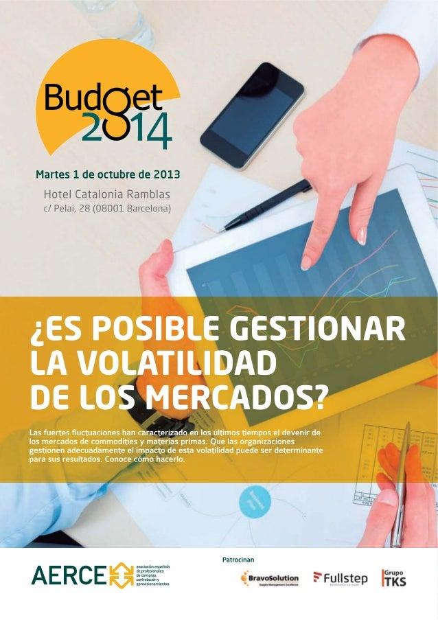 Diptico jornada budget aerce