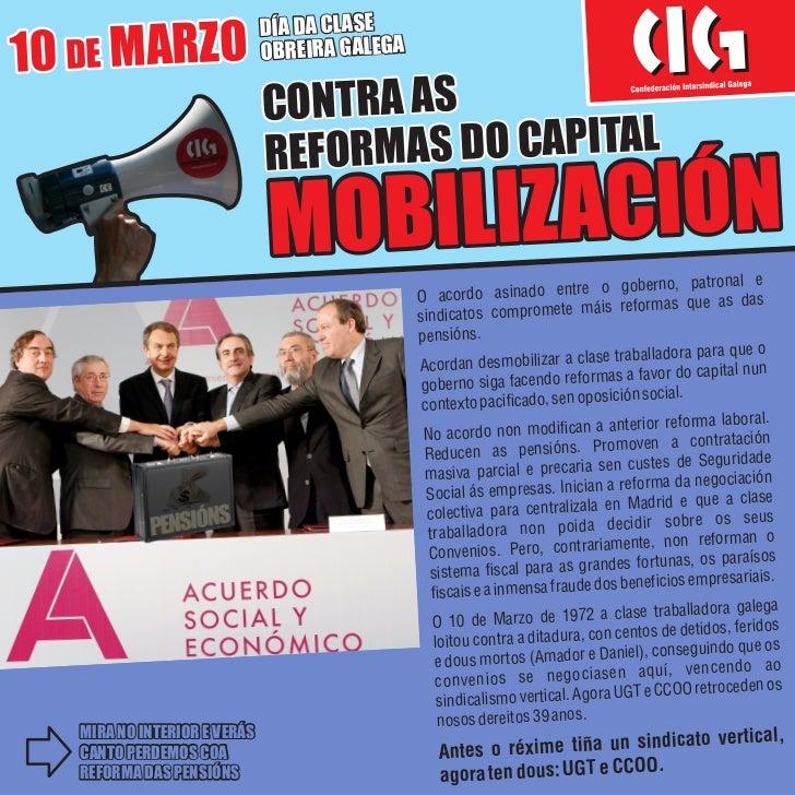 DÍA DA CLASE10 DE MARZO                   OBREIRA GALEGA                              CONTRA AS                           ...