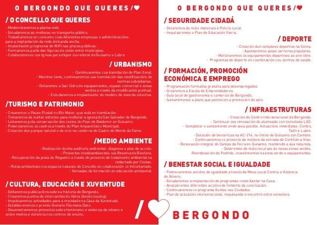 Programa PSOE de Bergondo 2019 Slide 2