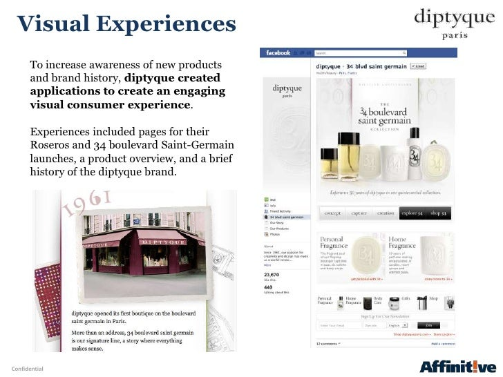 Visual Experiences       To increase awareness of new products       and brand history, diptyque created       application...