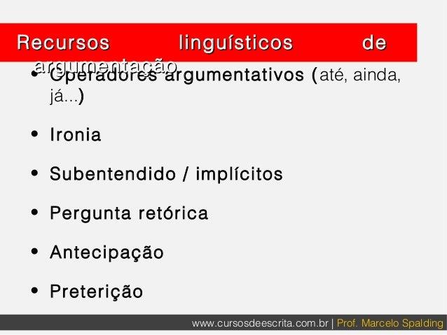 Modalizadores Linguísticos para alunos de Direito Slide 2