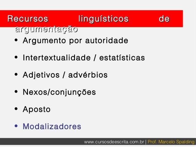 Modalizadores Linguísticos para alunos de Direito Slide 3