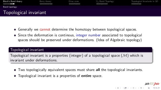 Introduction to Band Topology and Dirac Cone