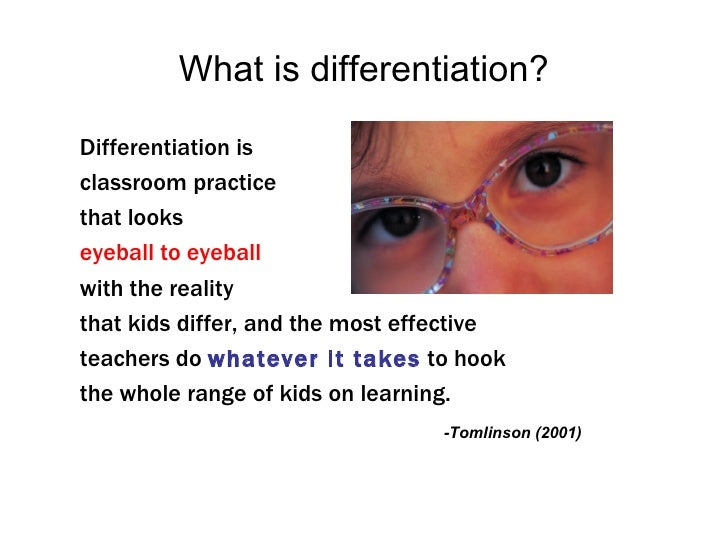 teaching strategies differentiated instruction