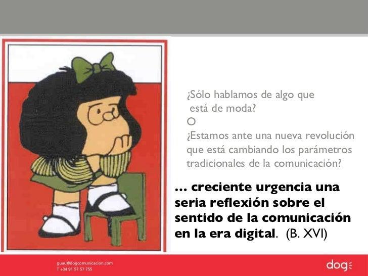 Comunicaci n digital el dircom en los tiempos de las for Estamos en menguante o creciente