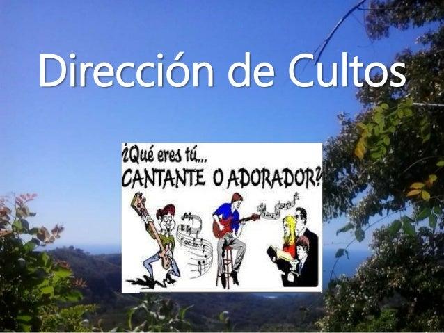 Dirección de Cultos