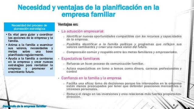 Dirección estratégica de la empresa familiar