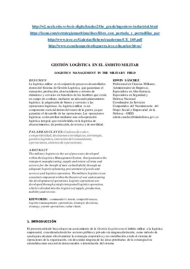 http://w2.ucab.edu.ve/tesis-digitalizadas2/ths_grade/ingeniero-industrial.html https://issuu.com/estrategiamaritima/docs/l...