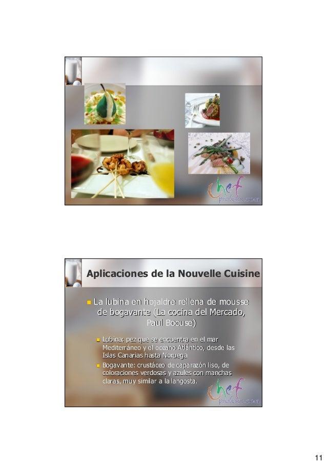 Direccion nouvelle cuisine for Cuisine nouvelle