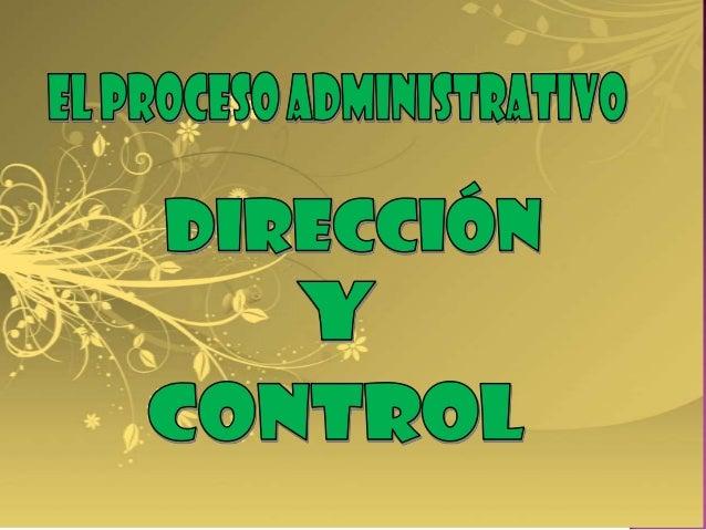 Planificación   Organización      Dirección              ControlMetas          Estructura       Motivación            ...