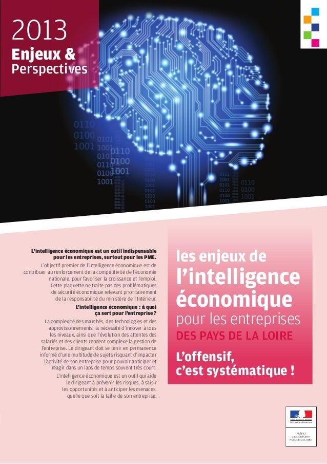 L'intelligence économique est un outil indispensable pour les entreprises, surtout pour les PME. L'objectif premier de l'i...