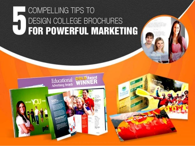 Compelling Tips To Design College Brochures For Powerful Marketing