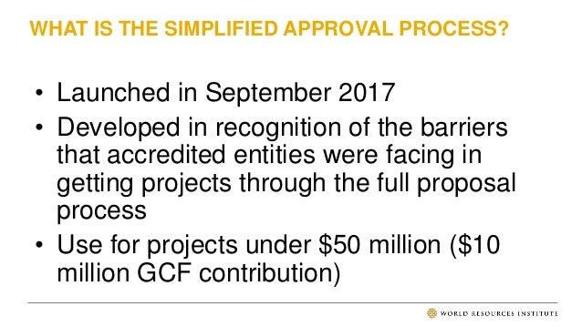 APPROVAL TIME FOR SAP PROPOSALS