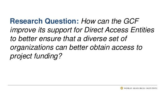 DIRECT ACCESS FROM 2014-2020 • Adaptation Fund and to a lesser extent Global Environment Facility pioneered direct access....