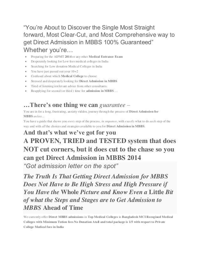 Direct MBBS Admission http://www directmbbsadmission com/