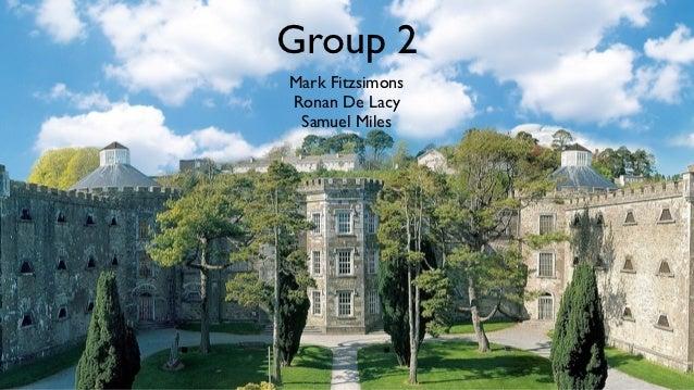 Group 2Mark FitzsimonsRonan De Lacy Samuel Miles