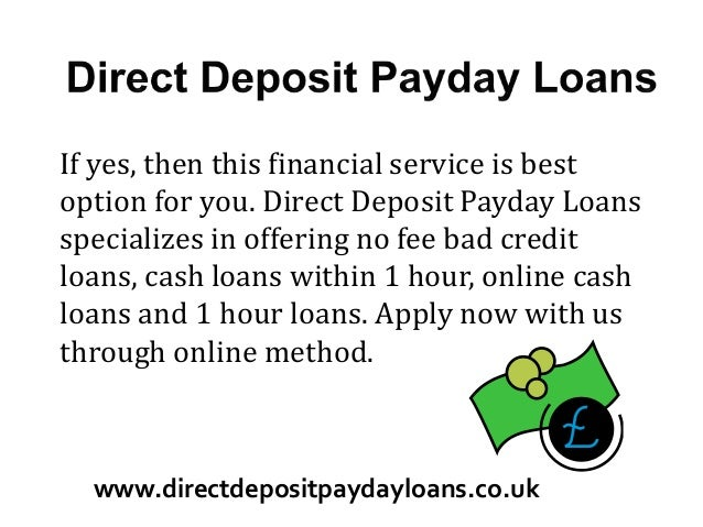 Payday Loans That Deposit Same Day