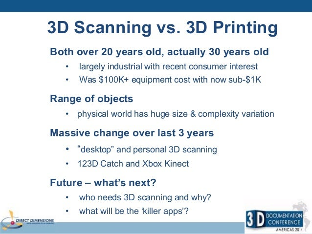 3D Scanning for 3D Printing: Making Reality Digital and then Physical…