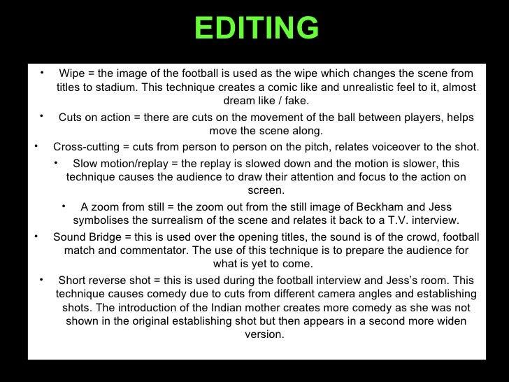 Bend it like beckham essay