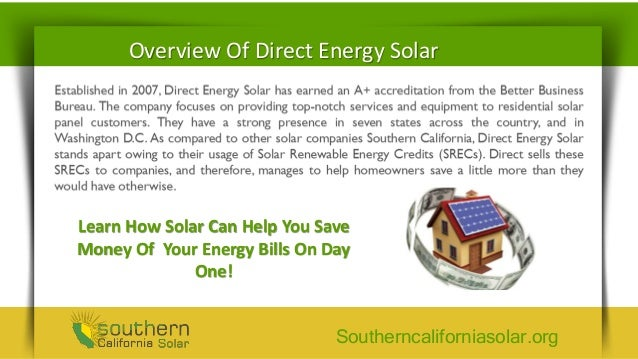 Direct Energy Pay As You Go >> Direct Energy Solar Company Reviews Go Solar Your Way