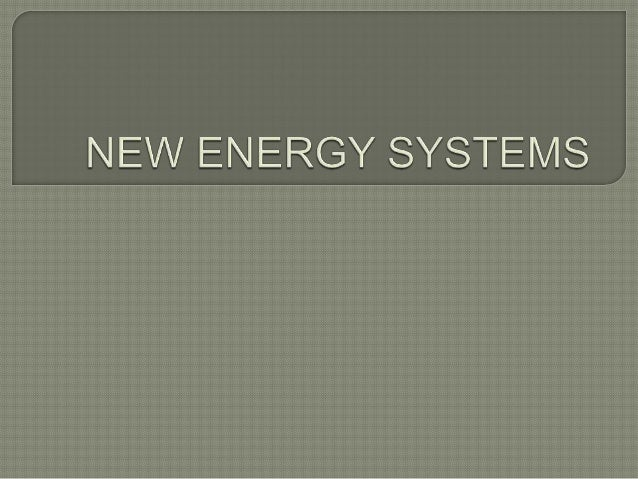 Direct energy systems