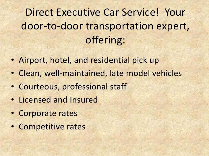 Executive Car Service Cleveland Ohio