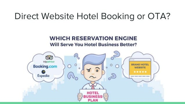 Direct hotel booking or ota which is better for hotel for Site reserver hotel