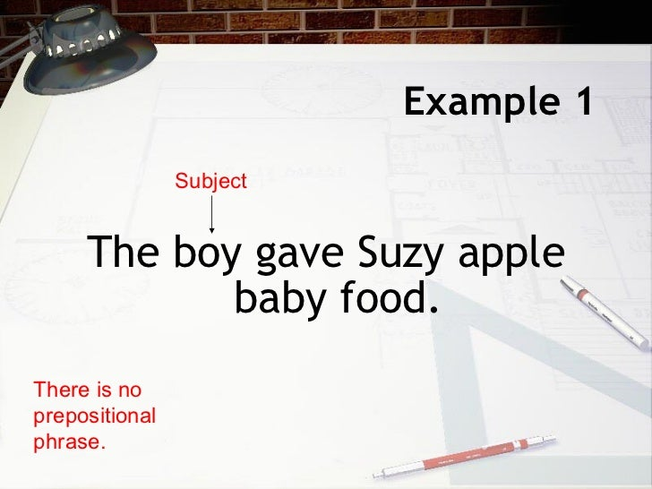 Direct indirect objects - Direct cuisine ...
