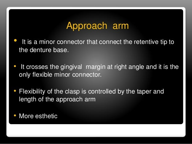 Retentive terminal  • It should end on the surface of the tooth below the  undercut.