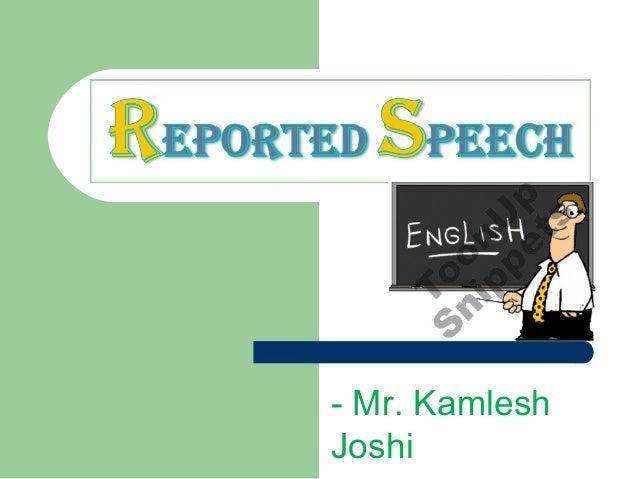 - Mr. KamleshJoshi