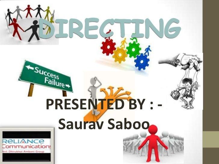 PRESENTED BY : - Saurav Saboo