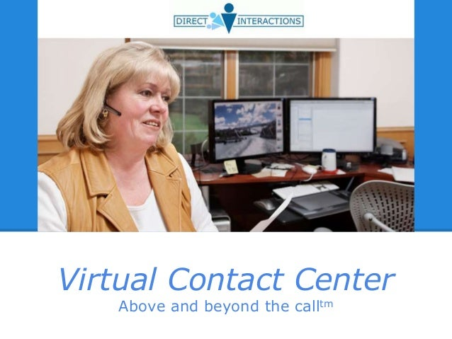 Direct interactions - Virtual Contact Center