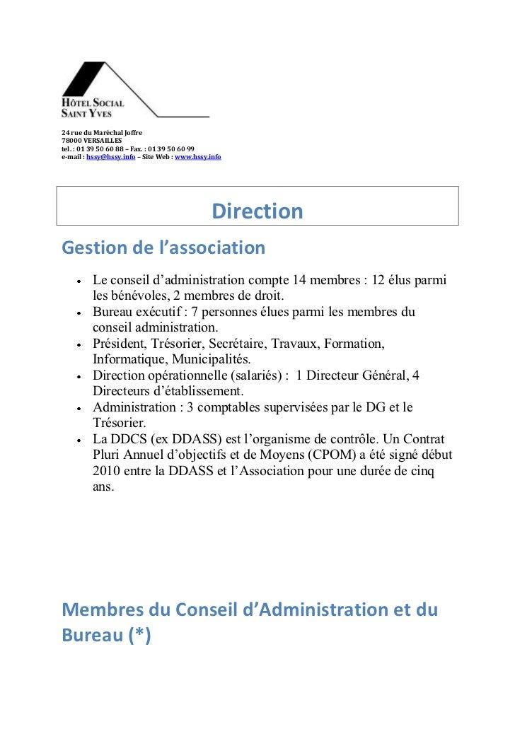 24 rue du Maréchal Joffre78000 VERSAILLEStel. : 01 39 50 60 88 – Fax. : 01 39 50 60 99e-mail : hssy@hssy.info – Site Web :...