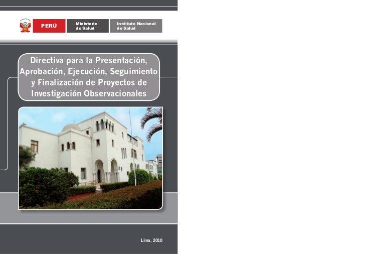 Ministerio   Instituto Nacional                                                                                           ...