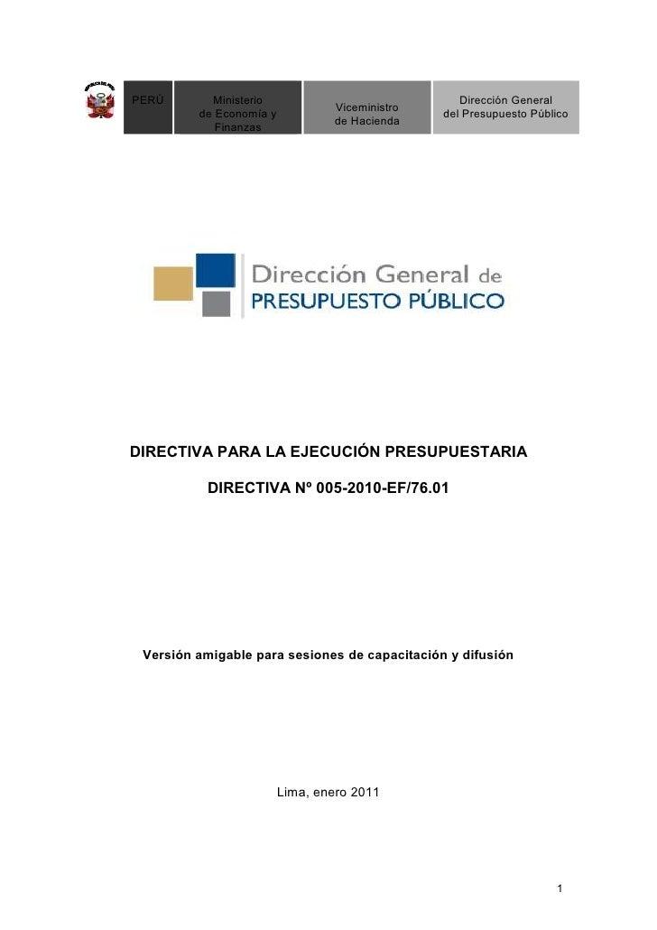 PERÚ       Ministerio                              Dirección General                                 Viceministro         ...