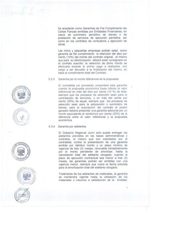 Directiva n.003 2012 custodia de cartas fianzs