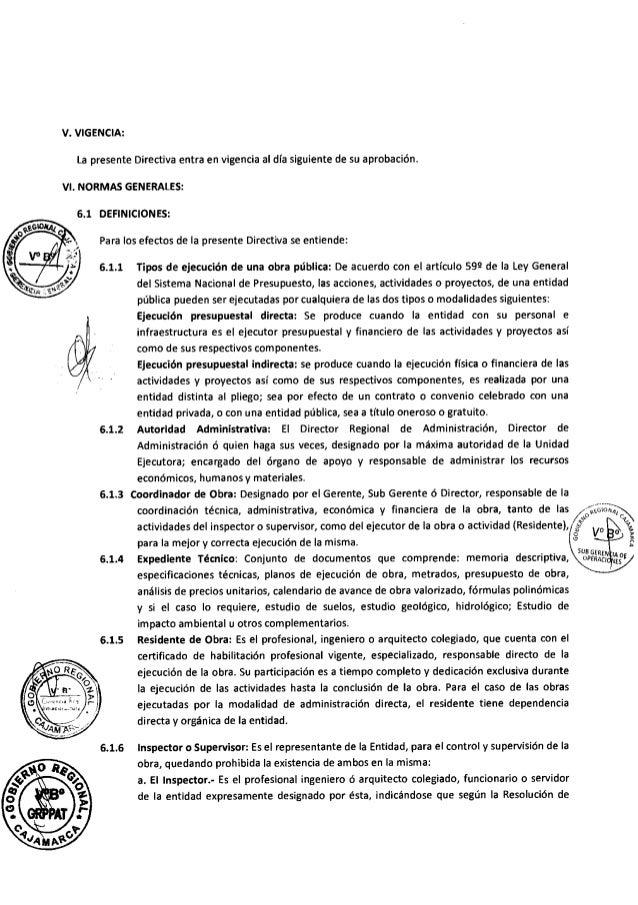 Directiva supervisor y residente de obra Slide 2