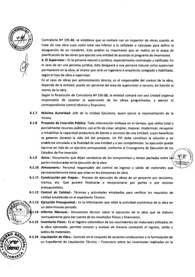 Directiva supervisor y residente de obra Slide 3