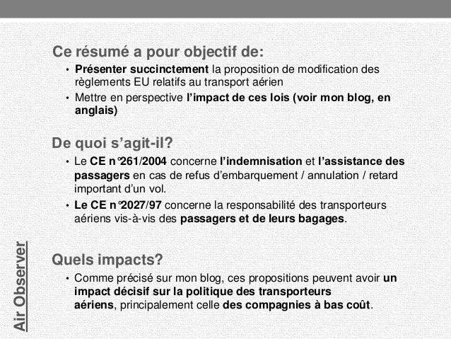 directive europ u00e9enne sur le droit des passagers a u00e9riens