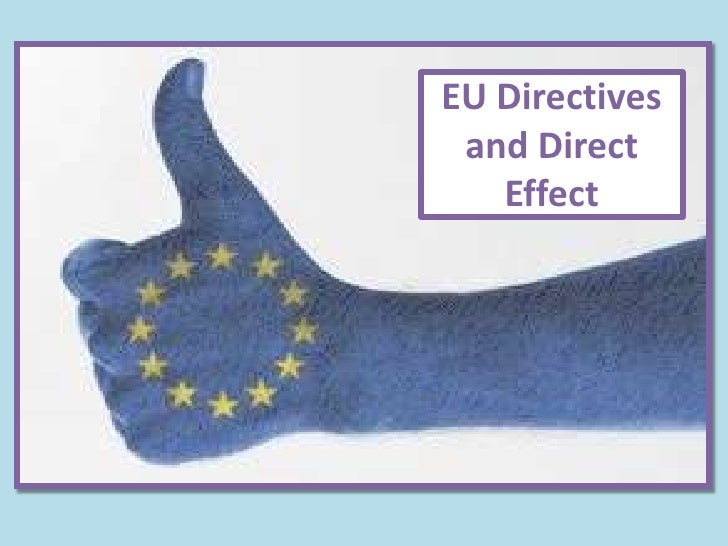 EU Directives and Direct   Effect
